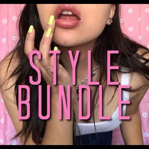 purple cute bundle set!